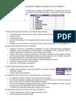Instrucciones Para Tu Producto Final de Word 2013