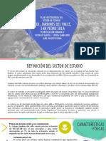 Plan Estratégico Sector de Estudio_Jardines Del Valle