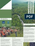 Environmental Governance Programme (EGP)