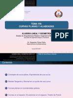 Tema Viii_ Curvas Planas y Alabeadas