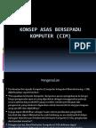 Konsep Asas Bersepadu Komputer (CIM)