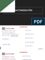 01 Factorización i - Alumnos
