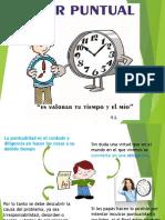 Clase Puntualidad