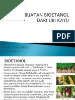 Pembuatan Bioetanol Dari Ubi Kayu