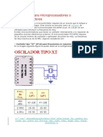 Osciladores Para Microprocesadores o Microcontroladores