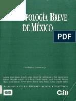 Antropologia breve de Mexico