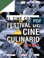 Afiche Festival de Cine Culinario