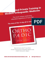 Your Way to Success in Orthopaedic Medicine