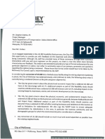 City of McKinney Letter to the Texas Department of Transportation
