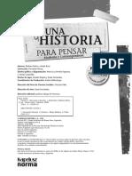 Historia Para Pensar. Moderna y Contemporánea