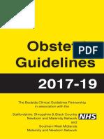 Guias de Urgencias en Ginecologia y Obstetricia