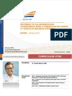 [PT KAI]Reformasi IT&TransformasiBisnisPTKAI2015