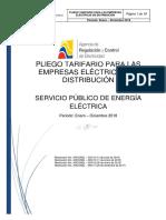 2018 06 13 Pliego Tarifario Del SPEE 2018 Final Actualizado