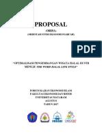 Proposal Orisa