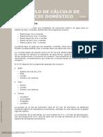Instalador de Agua (3a. Ed.) ---- (10 Ejemplo de Cálculo de Un Edificio Doméstico)