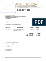 St. Joseph Trading - Quotation for DENR.docx