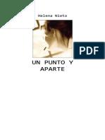 Nieto Helena - Un Punto Y Aparte.DOC