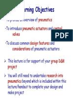 Lecture 2 - Pneumatics