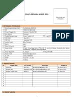 1. Profil PNS (Lampiran I)