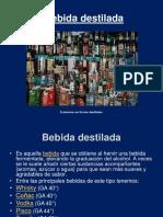 Presentación de Bebida destilada