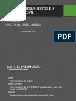 Cap 1. Costos y Presupuestos en Ingenieria Civil