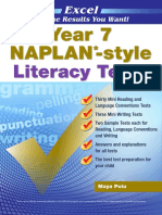 Year 7 NAPLAN Style Literacy Tests