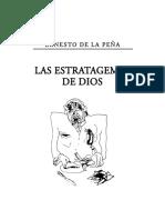 Ernesto de la Peña - Las Estratagemas de Dios