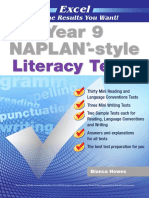 Year 9 NAPLAN Style Literacy Tests