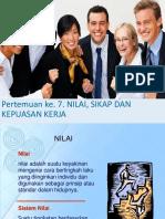 Psikologi dan HRD