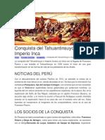 318521945 Conquista Del Tahuantinsuyo