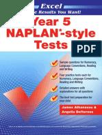 NAPLANstyle Tests Y5 Online Resource 2017