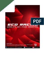 Eco Racing Knowledge
