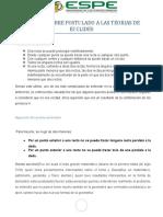RESUMEN SOBRE POSTULADO A LAS TEORIAS DE EUCLIDES.docx