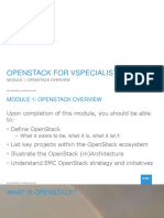 Vs OS MOD1 Openstack Overview