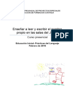 Inicial Prácts Del Lenguaje Curso Febrero 2016
