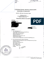Court Order ID 20-2017 Principal labour court - Bengaluru