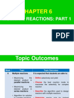 Lecture 10- Multiple Reactions 1