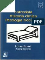 Entrevista Historia Clinica Luisa Rossi