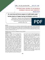 ASSAM HERBS FOR DIABETES.pdf