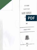 Gazetteer Bannu District Part A 1907