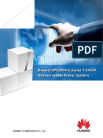 Huawei UPS2000-G Series 1-20kVA Uninterruptible Power Systems Brochure