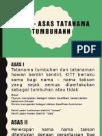 Asas – Asas Tatanama Tumbuhann-presentasi