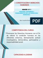 Sesión 01 Persona Dignidad y Fundamentos de Los Derechos Humanos..