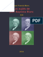 Joan Francés BLANC. Los Aujòls de Joan Baptista Blanc XVII