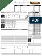 Filable Pathfinder Sheet