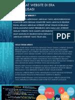 Manfaat Website Di Era Globalisasi