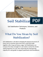 Soil Stabilization Types and Techniques