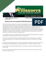 Villanueva Press Release June 6 2018