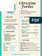 christie forbes - resume
