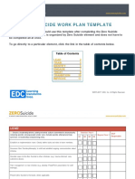 Zero Suicide Workplan Template 12.6.17